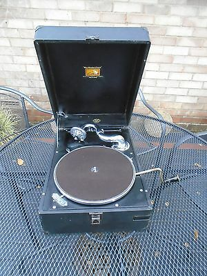 HMV (His Masters Voice) Table Top Wind Up Gramophone Model C.102 H