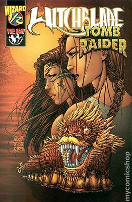 Witchblade Tomb Raider (1998) Wizard 1/2 #1A FN