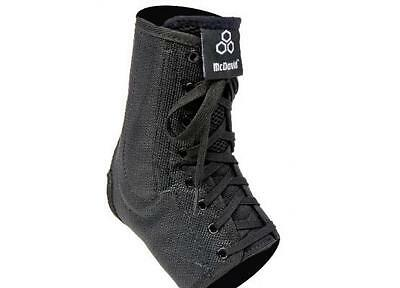 McDavid Lightweight Laced Ankle Brace Guard NEW Black 199T Unisex Injury Support