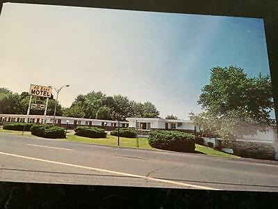 40 East Motel Hagerstown Md Postcard Mid Century