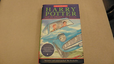 Harry Potter and the Chamber of Secrets by J. K. Rowling (Hardback, 1998)