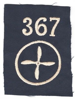 Army Patch: Enlisted Mechanic, 367th Aero Squadron - WWI