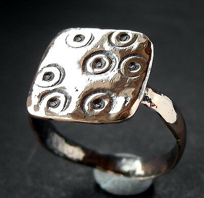 SUPERB DECORATED ANGLO-SAXON Æ RING - wearable UK find
