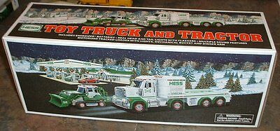Hess Gasoline '13 Toy Truck and Tractor