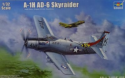 TRUMPETER® 02253 US Navy A-1H AD-6 Skyraider in 1:32