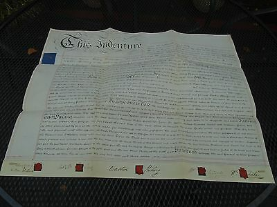 Indenture Sheet Issued to Daniel Bazley 10th July 1809