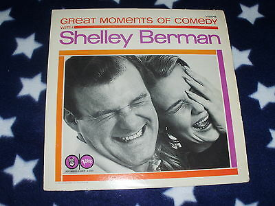 Great Moments Of Comedy With Shelley Berman Verve Records Very Good Condition