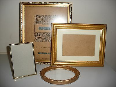 Gold Photo Frame Collection (4 In Total)