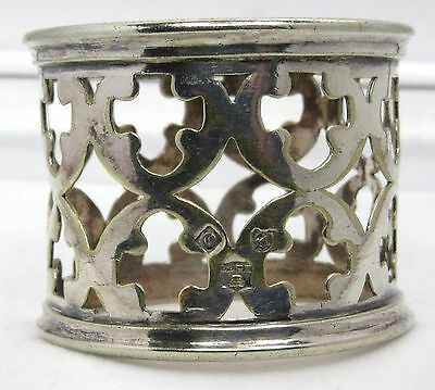 Old Silver Plated Napkin Ring.carry Deans To Carry Rait