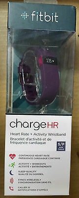 fitbit charge HR - Heart Rate + Activity Wristband, Size S, Brand new, sealed!