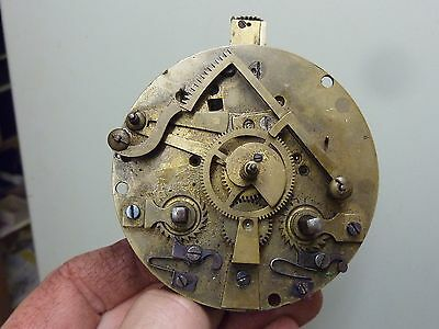 Antique French Clock Striking Movement (Rc)