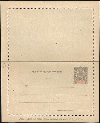 2486 French Polynesia Tahiti Ps Stationery Letter Card Unused