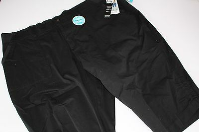 812ca981 Lee Women's Size 24W NEW NWT Plus Skimmer Capri Black Pants Relaxed Fit