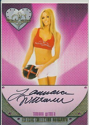 Tamara Witmer  * 2014 Benchwarmer Eclectic * Autograph *  Playboy  *  Hot !