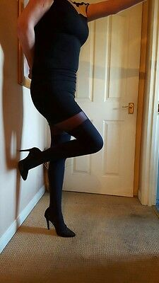 My Lovely pretty polly suspender  tights