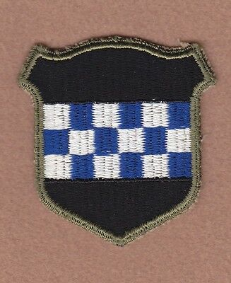 Army Patch: 99th Infantry Division, cut edge