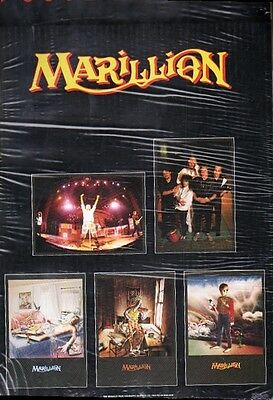 Marillion Vintage Poster Pack  5 Posters