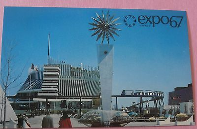 "Pavilion of France ""Tradition & ...) Expo 67 Montreal Canada Unused Postcard #2"