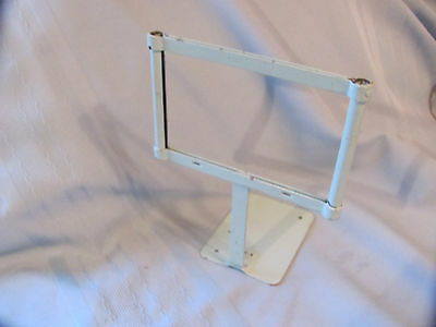 Vintage OLD METAL PRICE FIXTURE Sign Holder  DISPLAY STAND Dime Store