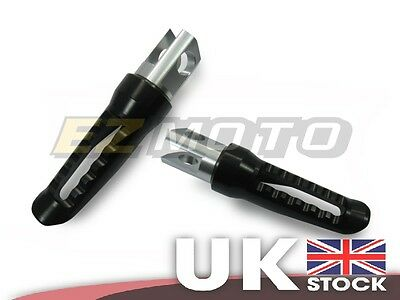 Front Footpegs Footrest Foot Rest Pegs Black fit Suzuki GSR600 GSR750 06-13