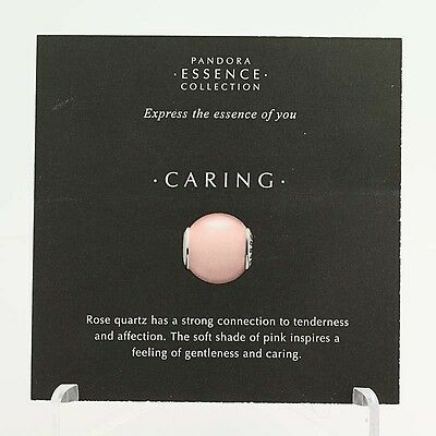 New Pandora Essence Collection Caring Photo Information Bead 20 Stock Cards
