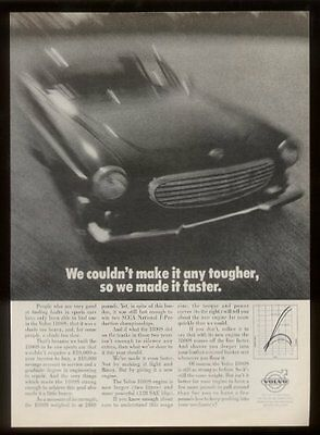 1969 Volvo 1800S car photo So We Made It Faster ad