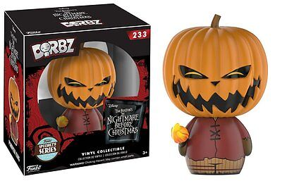 Funko Nightmare Before Christmas Specialty Series Pumpkin King Dorbz