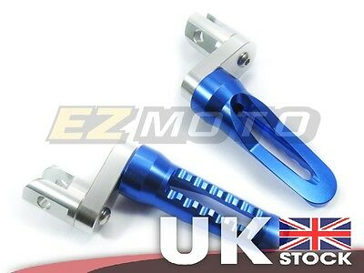 Front Rider CNC Footpegs Footrest Raised Extend Blue fit Kawasaki Z800 2013-14