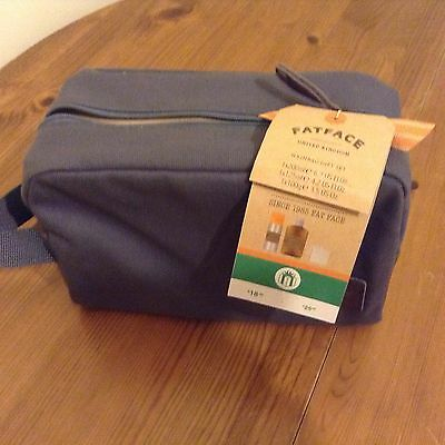 Fat Face Men's Wash Bag -  Gift Set - Body Spray, Body Wash And Soap - New !!!