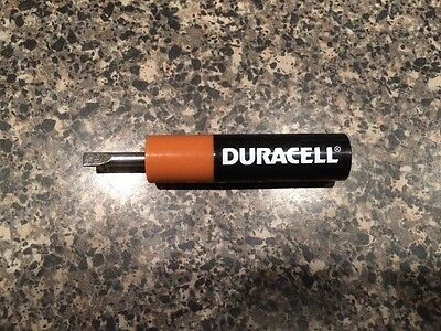 Duracell Screwdriver Vintage Flat and Phillips Vintage Collectible Rare