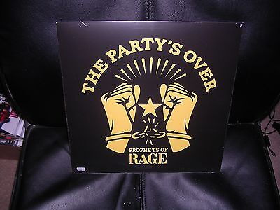 Prophets Of Rage - The Party's Over Ltd Red Vinyl Ep Mint/sealed + Free Uk P&p