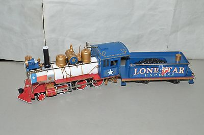 On30 scale Hawthorn Village Bachmann Texas State steam locomotive