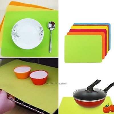 Bakeware Non-stick Silicone Pastry Baking Tray Oven Rolling Kitchen Mat 30×40cm