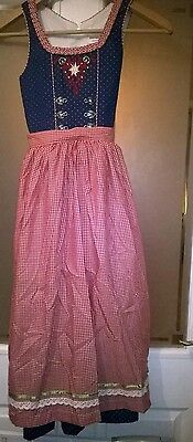 Traditional Bavarian Dirndl size 134 approx age 9-10 years new original steindl