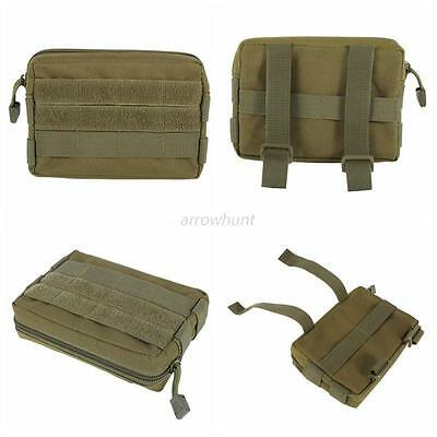 Nice 600D Airsoft Tactical Military Modular Molle Utility Tools Pouch Case Bag