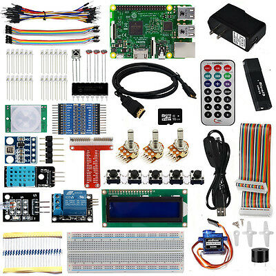 Ultimate Starter Kit With Pi3 Model B Board for Raspberry Pi Projects 26 items