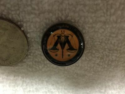 Harry Potter Ministry Of Magic Logo Lapel Pin Free Shipping in USA