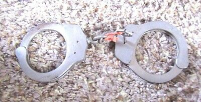 Vintage Chief of Police Double Lock Handcuffs  Made in Spain