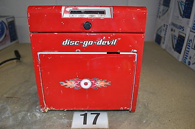 TDR Disc-Go-Devil DVD & Blu-ray Disc Repair & Cleaning Machine Red (Untested)