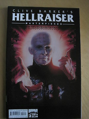 CLIVE BARKER 's HELLRAISER MASTERPIECES #  3. BOOM! 2011