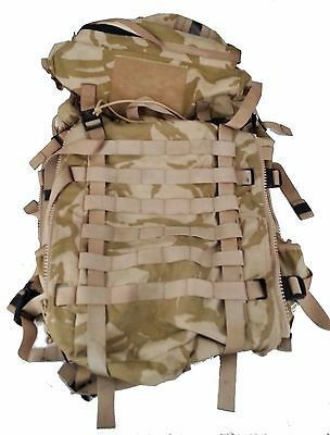 NEW PRI Bergen 45 Litre Desert DPM Field Pack Backpack British Army With Liner