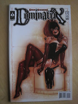 GENE SIMMONS DOMINATRIX : Lesson 5.  SIMMONS COMIC GROUP. IDW. 2007