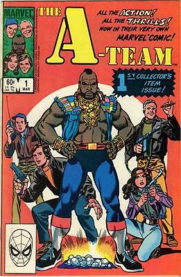 A-Team # 1 1984 Marvel VF TV Comic