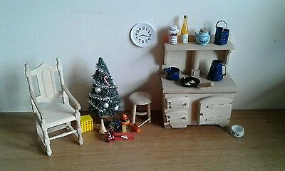 Dolls House Furniture Christmas Morning Miniature  1 12th scale