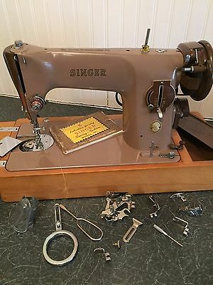 Singer Sewing Machine - Model 201 - Working Order - Vintage and Classy