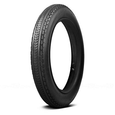 COKER Tire 74760 - Firestone Antique Motorcycle Chevron Tread Clincher 385X20 CL