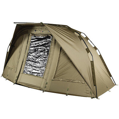 JRC Stealth Bloxx Carp Fishing Bivvy and Day Shelter Tent 1 Man
