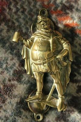 FALSTAFF BRASS DOOR KNOCKER Reg No