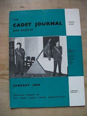 The Cadet Journal and Gazette- Army Cadet Force Magazine January 1969