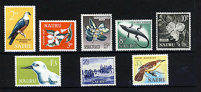 NAURU 1963 to 1965 The Complete Set SG 57 to SG 64 MINT